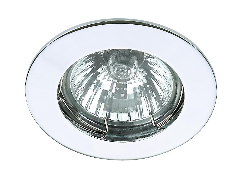 Powerlight Спот встр бел led d150mm 9w 670lm 3000k 6029/1-4wh